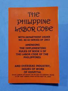 The Philippine Labor Code