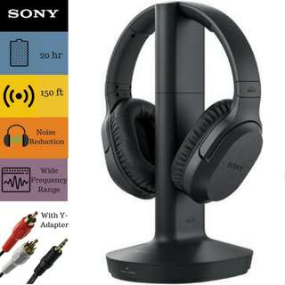 Sony RF995RK Wireless RF Headphones (2017 model)
