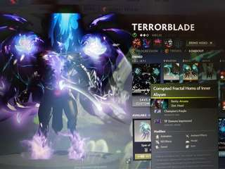 Dota 2 tb arcana champion purple