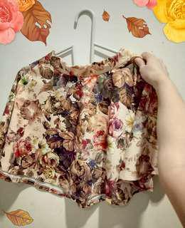 Bershka autumn skirt