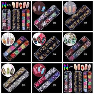 Assorted Nail Embellishments