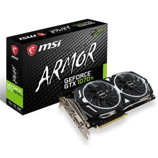 🚚 GeForce® GTX 1070 Ti ARMOR 8G