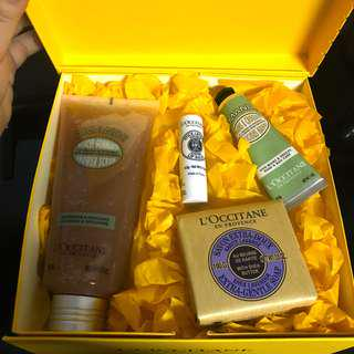 NEW L'Occitane En Provence Gift Box