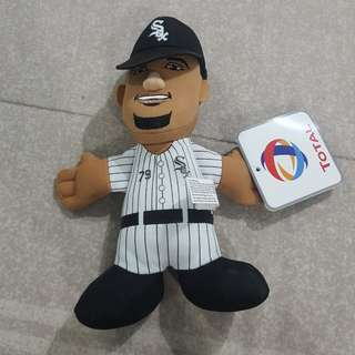 "Legit Brand New With Tags Bleacher Creatures MLB Jose Abreu Chicago White Sox 8"" Plush Toy Doll Total Exclusive"