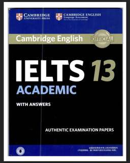 Cambridge English IELTS 13 Academic with Answers