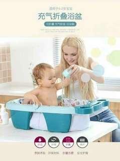 新款充气折叠浴盆