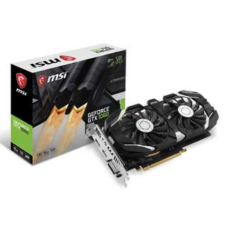 🚚 MSI GeForce® GTX 1060 6GT OCV1