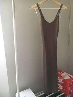 Open Back Knit Dress