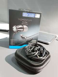 Sennheiser Momentum In-Ear Black Chrome