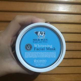 Milk plus facial mask