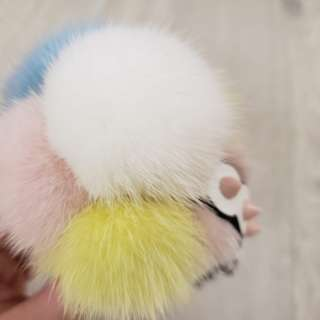 fendi charm fur ball ICE cream !!!!