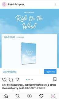 KARD RIDE ON THE WIND