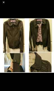 Mackage Leather Jacket - XXS