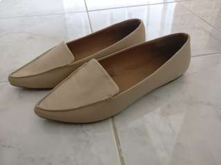 'Call it Spring' Nude Flats | Size 8