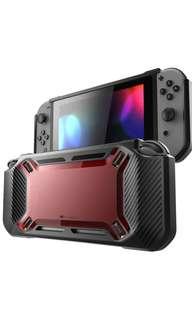 Mumba Heavy Duty Case for Nintendo Switch - Red / Black