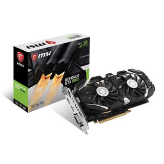 🚚 MSI GeForce® GTX 1060 3GT OCV2