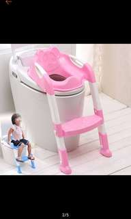 Foldable Potty Trainer Step Up Seat