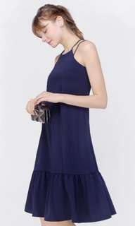 🚚 Fayth Gemma Drop waist dress Navy