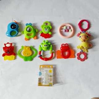 Toys , teether (all rm15)