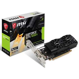 🚚 MSI GeForce® GTX 1050 Ti 4GT LP