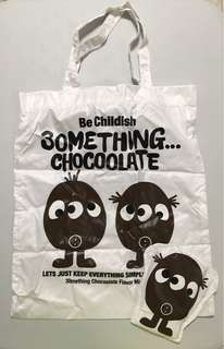 Chocolate Tote Bag 環保袋 收納袋 購物袋