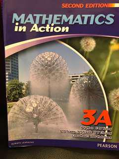 Mathematics in Action 3A second edition