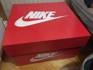 Nike huge shoes box