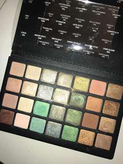 AUTHENTIC Natasha Denona Green Brown palette