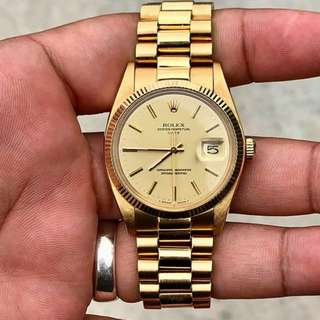 Rolex Gold 18K Authentic