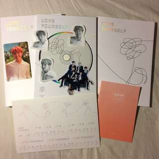 🦄Jhope✨防彈少年團 鄭號錫 韓壓專輯 BTS Love Yourself 承 Her🖤O版