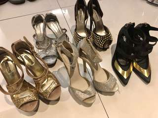 5pcs of Assorted High heels