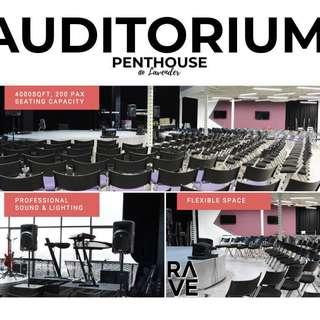 Penthouse - Auditorium