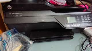 Hp four in one printer with feeder  四合一 打印機