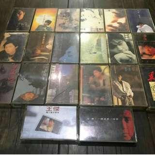 王傑歷年經典專輯絕版錄音帶20卷