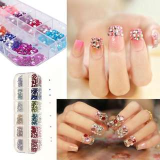 Mixed Color Rhinestones