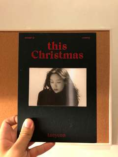 Taeyeon this Christmas album
