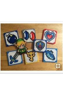 Legend Of Zelda Cup Coasters set