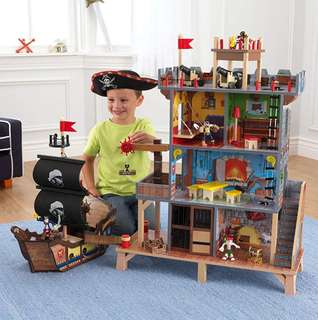 (PO) BN KidKraft Pirates Cove Dollhouse Play Set for Kids