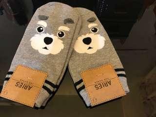 🚚 全新 可愛雪納瑞襪子