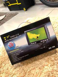 Mini Monitor Tv