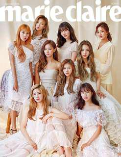 [GO] TWICE Marie Claire August