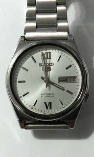 SEIKO 5  Autumotic Watch bezel 36mm 21 jewels