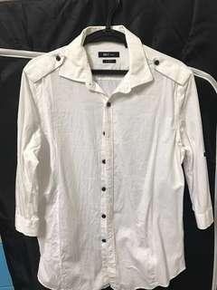 🚚 Net白襯衫(m)