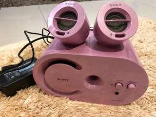 Sony, SRS-D25 speaker