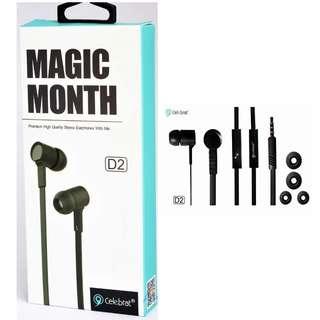Celebrat Magic Month D2 Earphones