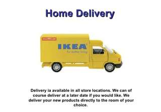 Ikea delivery(shopping+delivery)
