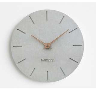 [Pre-order] Emitdoog Nordic Concrete Clock