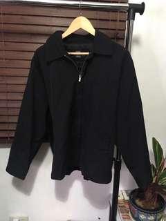 Black coach jacket Banana Republic