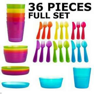 Tupperware(full set 36pcs)