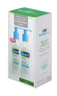 Cetaphil Restoraderm Skin Restoring Body Moisturizer Twin Pack
